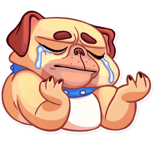 Pugford the Pug - Sticker 22