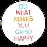جملات روزانه - Tray Sticker