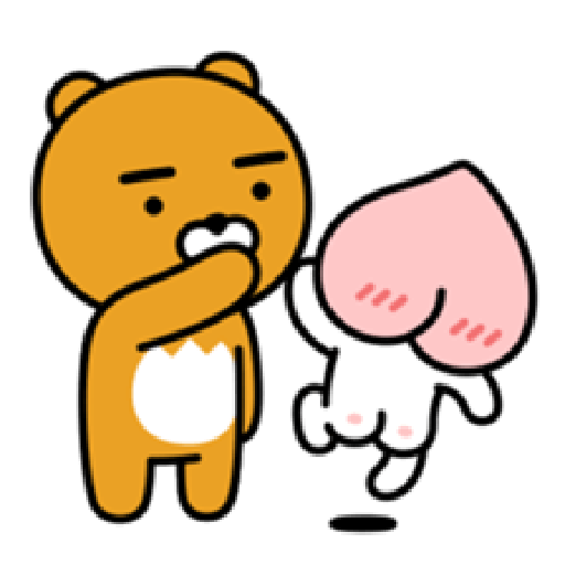 Charming APEACH - Sticker 2