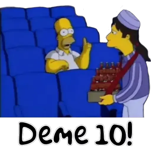 Simpsons 1 - Sticker 12