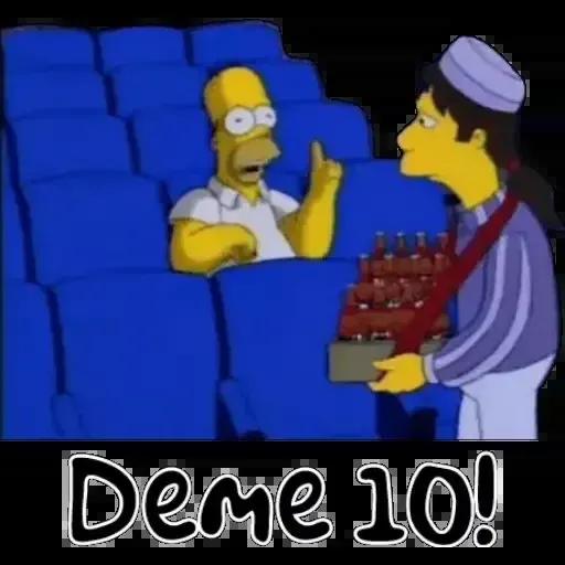 Simpsons 1 - Sticker 12
