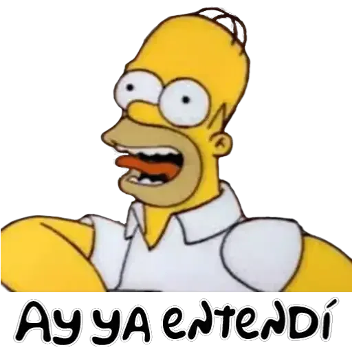 Simpsons 1 - Sticker 2