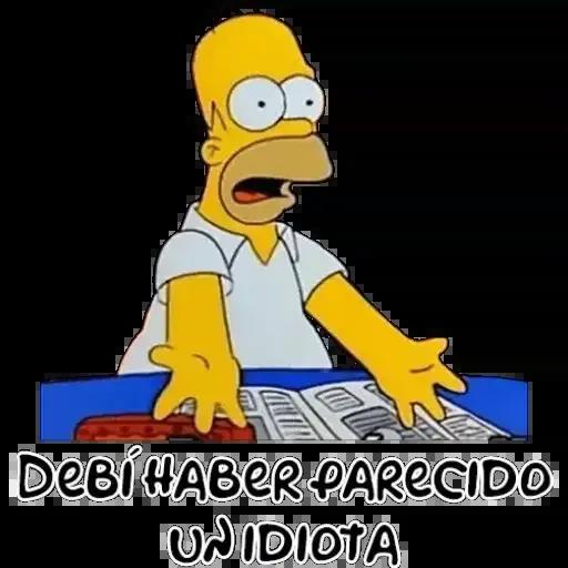 Simpsons 1 - Sticker 24