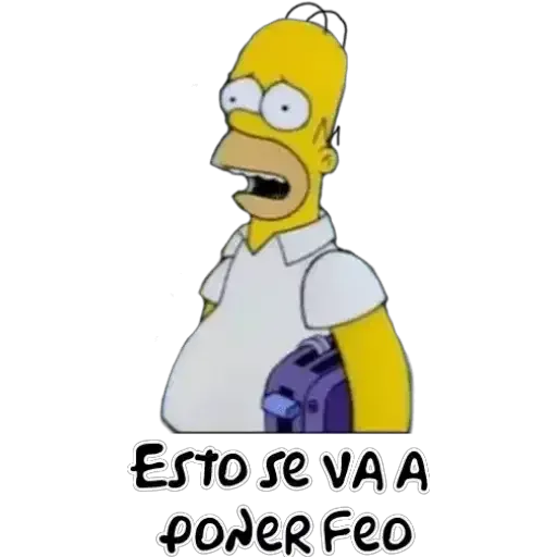 Simpsons 1 - Sticker 25