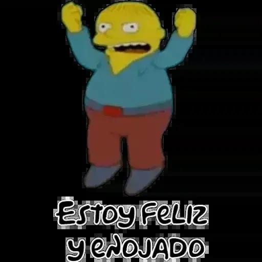 Simpsons 1 - Sticker 16