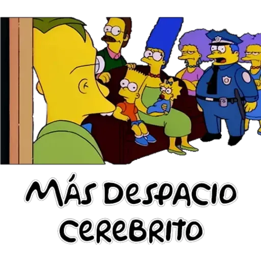 Simpsons 1 - Sticker 21