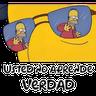 Simpsons 1 - Tray Sticker