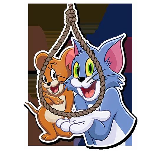 Tom and jerry - Sticker 26