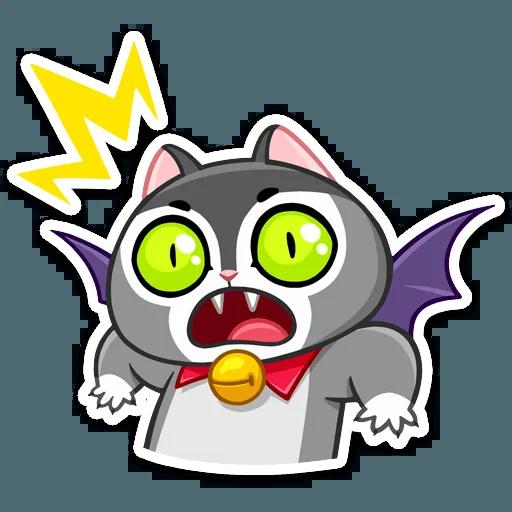 Vamp Cat - Sticker 21