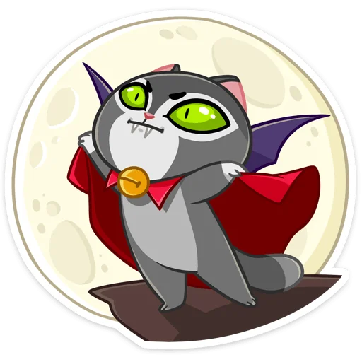 Vamp Cat - Sticker 27