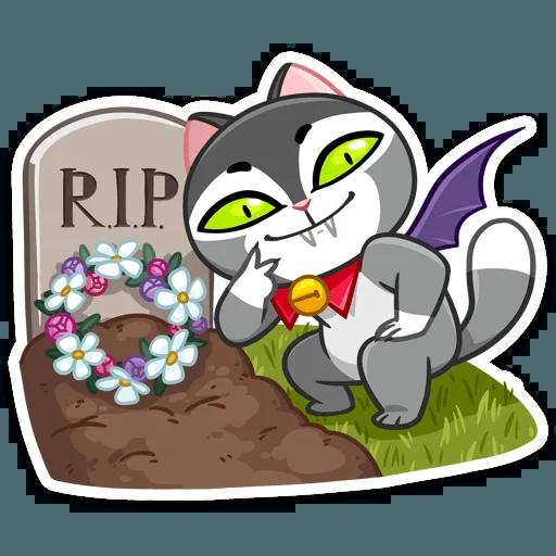 Vamp Cat - Sticker 2