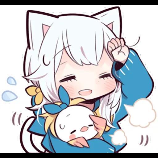 White kitten 2 - Sticker 17