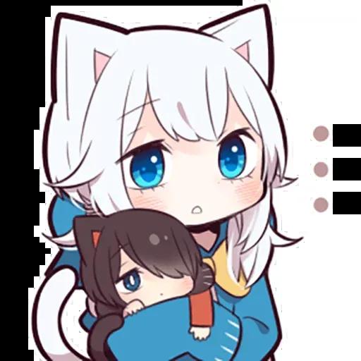 White kitten 2 - Sticker 18