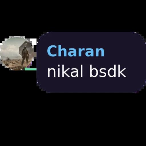 Ch@ràñ - Sticker 2