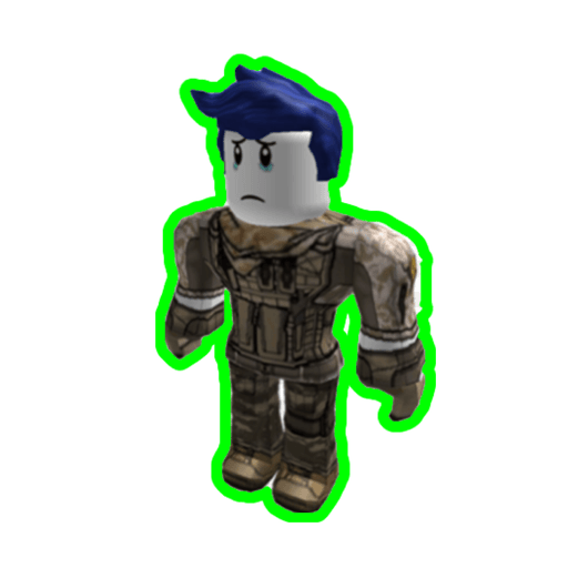 Roblox guest  - Sticker 4