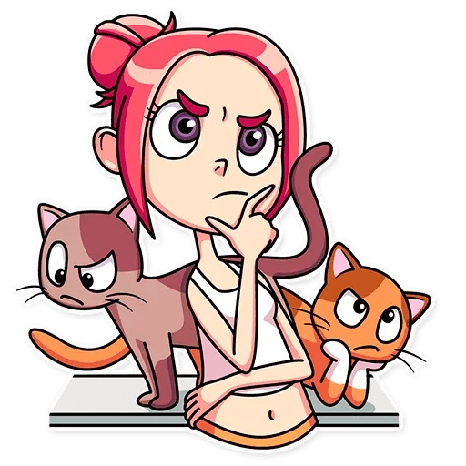 Mia Cat - Sticker 28