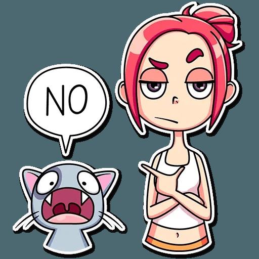 Mia Cat - Sticker 30