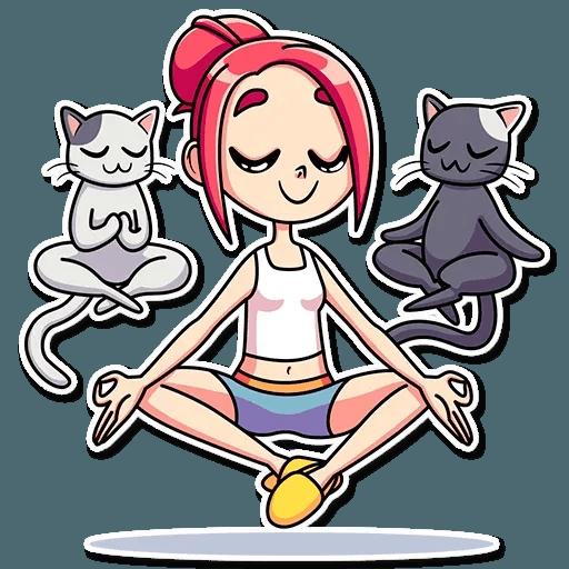 Mia Cat - Sticker 15