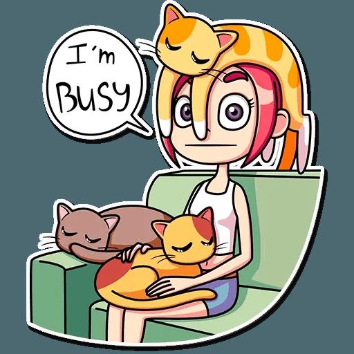 Mia Cat - Sticker 21