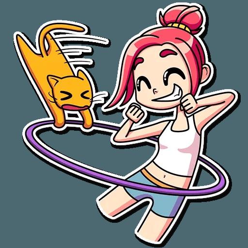 Mia Cat - Sticker 17