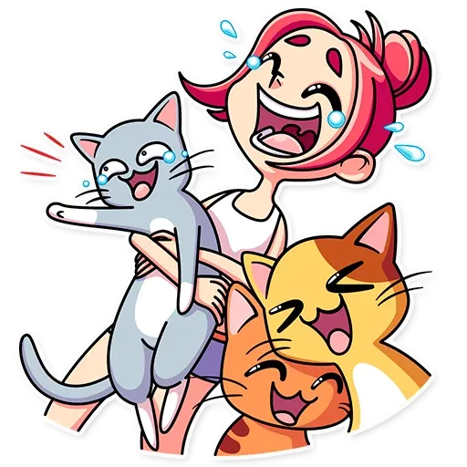 Mia Cat - Sticker 1