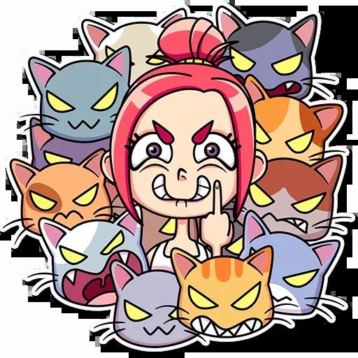 Mia Cat - Sticker 12