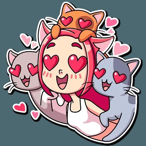 Mia Cat - Sticker 26