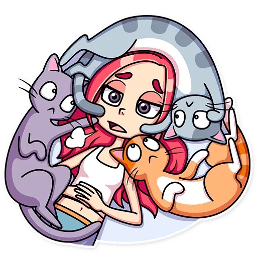 Mia Cat - Sticker 13