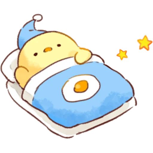 soft and cute chick 01 - Sticker 21