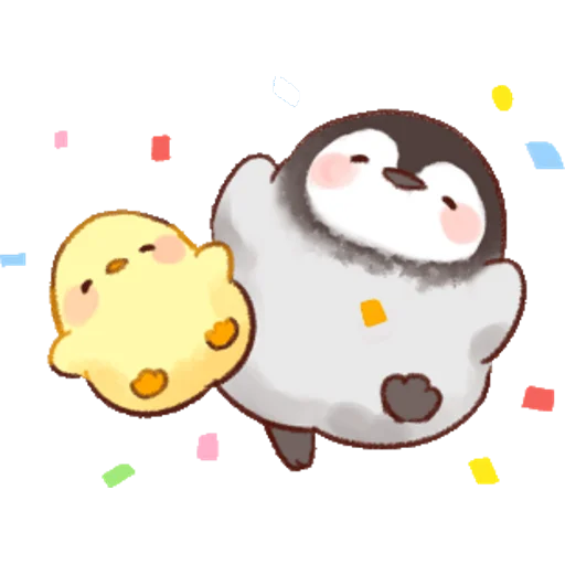 soft and cute chick 01 - Sticker 16