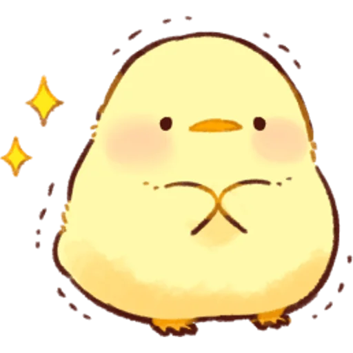 soft and cute chick 01 - Sticker 20