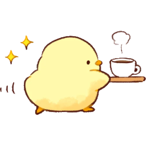 soft and cute chick 01 - Sticker 6