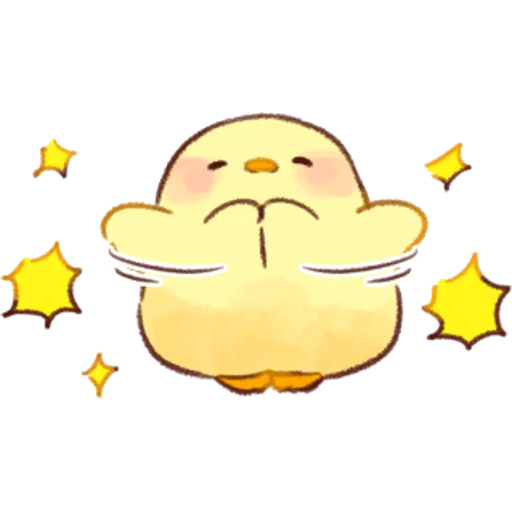 soft and cute chick 01 - Sticker 26