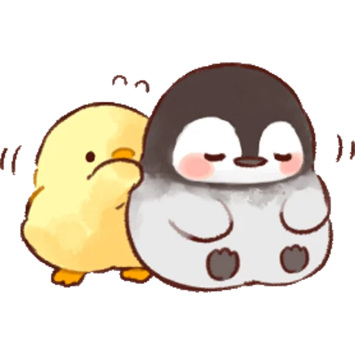soft and cute chick 01 - Sticker 11