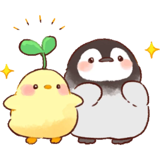 soft and cute chick 01 - Sticker 15