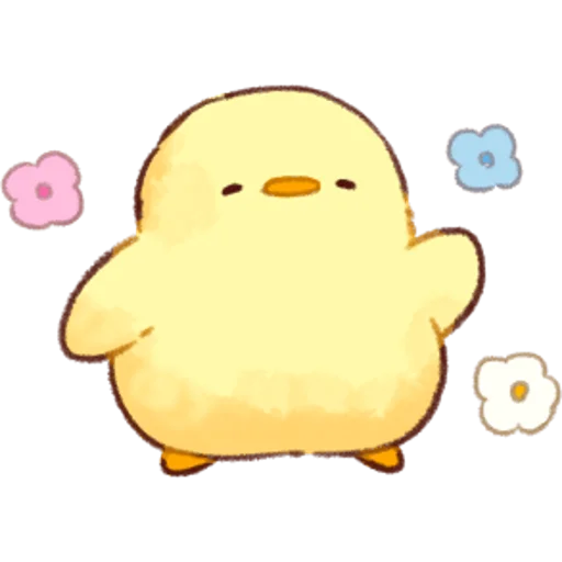 soft and cute chick 01 - Sticker 19