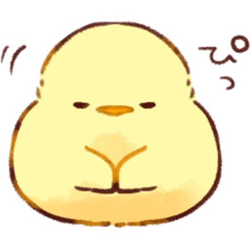 soft and cute chick 01 - Sticker 18
