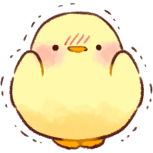 soft and cute chick 01 - Sticker 27