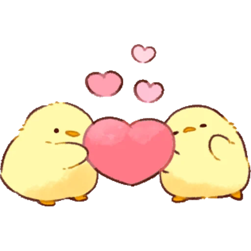 soft and cute chick 01 - Sticker 4