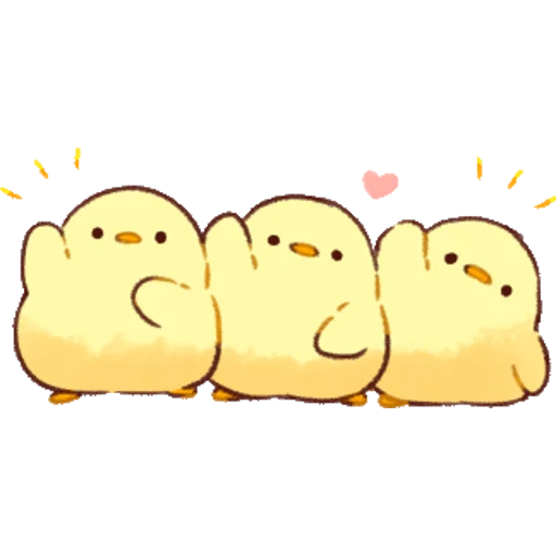 soft and cute chick 01 - Sticker 3