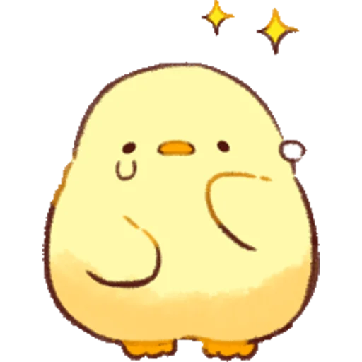 soft and cute chick 01 - Sticker 7