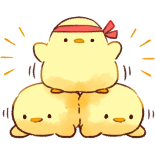 soft and cute chick 01 - Sticker 23