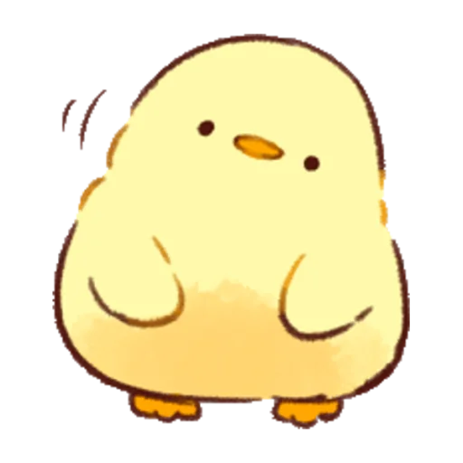 soft and cute chick 01 - Sticker 13