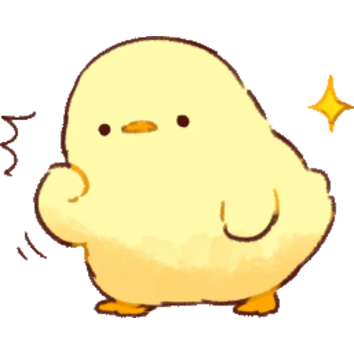 soft and cute chick 01 - Sticker 2