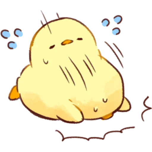 soft and cute chick 01 - Sticker 29