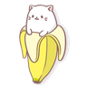 Banana - Tray Sticker