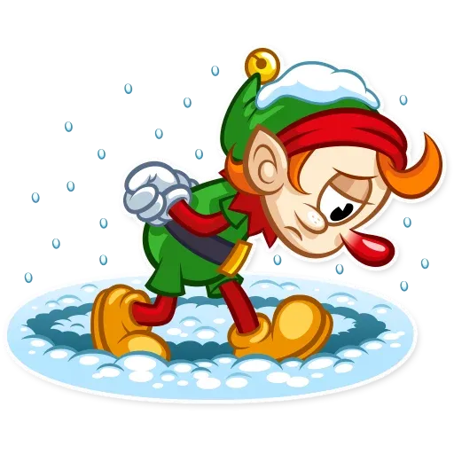 Christmas Elf - Sticker 26
