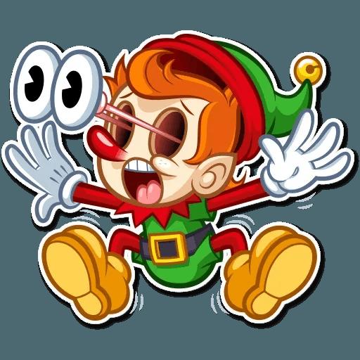 Christmas Elf - Sticker 4