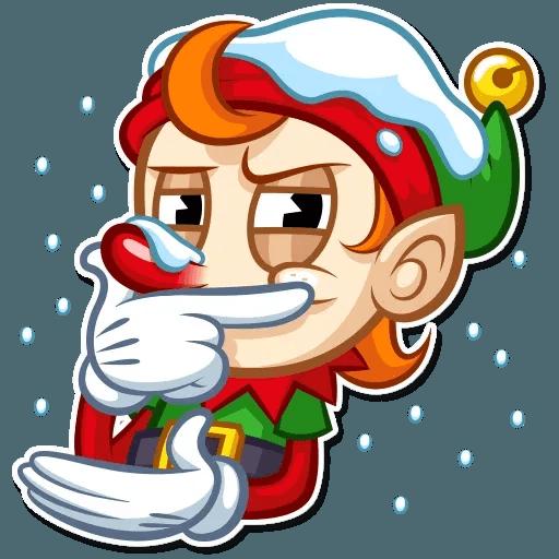 Christmas Elf - Sticker 12