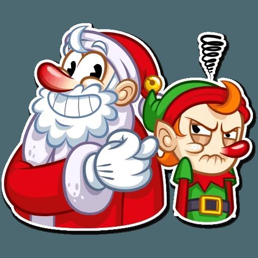 Christmas Elf - Sticker 27